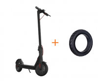 Xiaomi Mijia Electric Scooter M365 EU Adapter (+комплект покрышек) (Black)